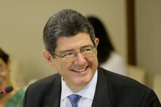 O ministro da Fazenda, Joaquim Levy