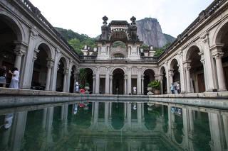 Escola de Artes Visuais do Parque Laje no Rio de Janeiro