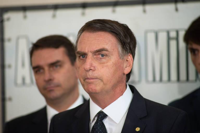 Retrato de Bolsonaro