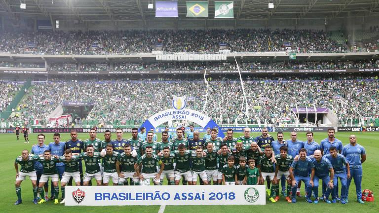 Palmeiras leva o Brasileirão 2018