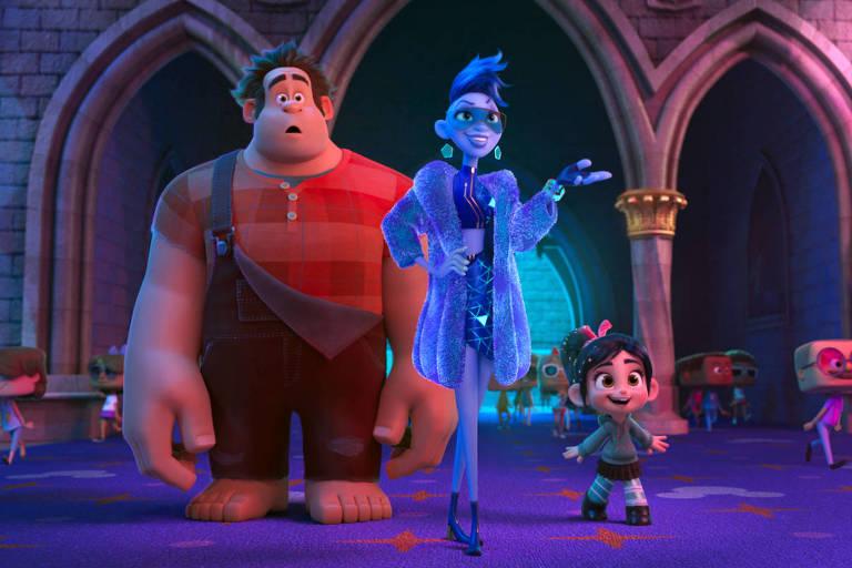 Animação 'Wifi Ralph' fica no topo das bilheterias pela segunda semana consecutiva