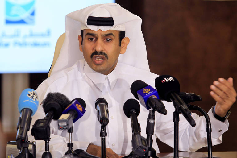 Ministro de Estado para Assuntos Energéticos do Catar, Saad al-Kaabi