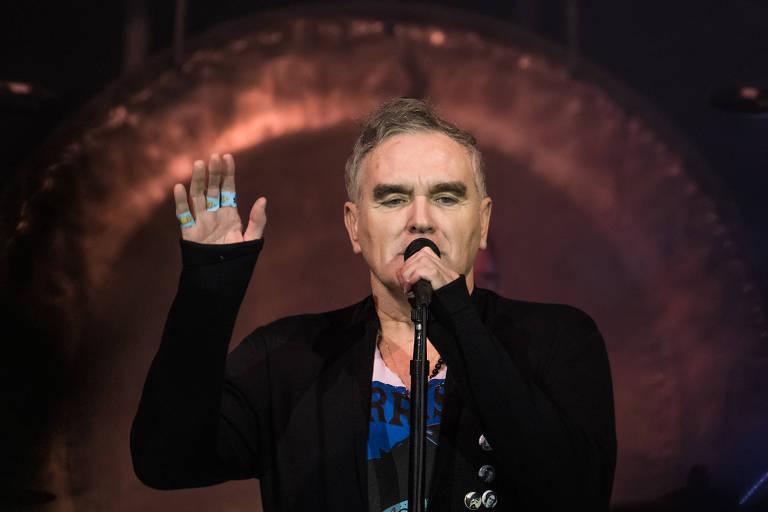 Morrissey no Espaço das Américas, em São Paulo