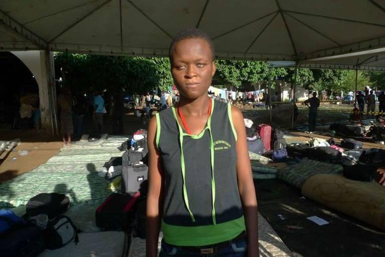 Nadine passou três meses em abrigo superlotado de imigrantes no Acre logo após chegar ao Brasil, em 2013