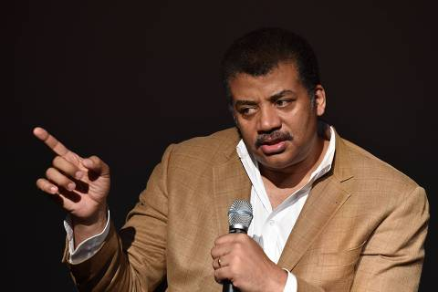 (FILES) In this file photo taken on August 04, 2014 Neil deGrasse Tyson, astrophysicist,