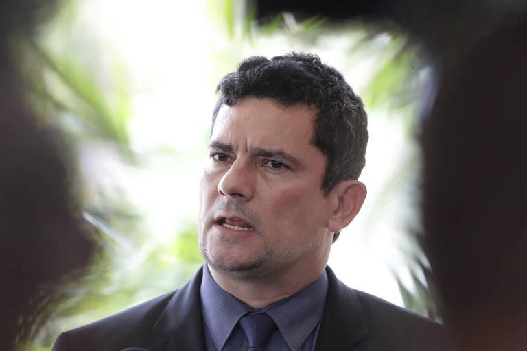 O ex-juiz Sergio Moro, futuro ministro da Justiça do governo Bolsonaro