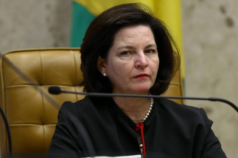 A procuradora-geral da República, Raquel Dodge, durante sessão no STF