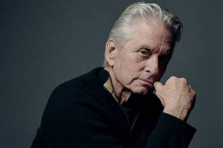 Michael Douglas, who at 74 has taken his first ongoing television role since the 1970s.