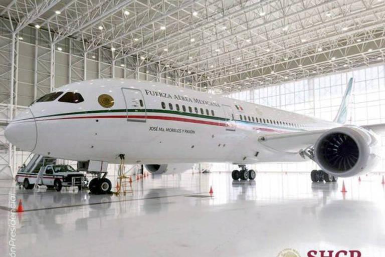 Por dentro do luxuoso avião presidencial que o México colocou à venda