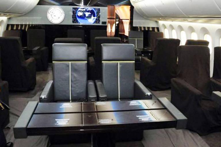 Avião presidencial tem 57 metros de comprimento e capacidade máxima para 80 passageiros