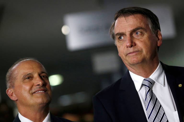 O presidente eleito, Jair Bolsonaro, que começou a receber bancadas de partidos para tentar obter apoio no Congresso