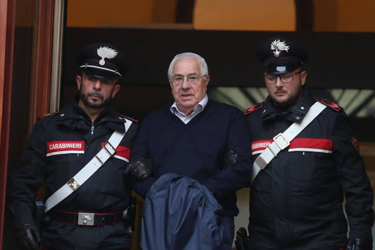 Polícia da Itália prende novo 'chefe dos chefes' da máfia siciliana