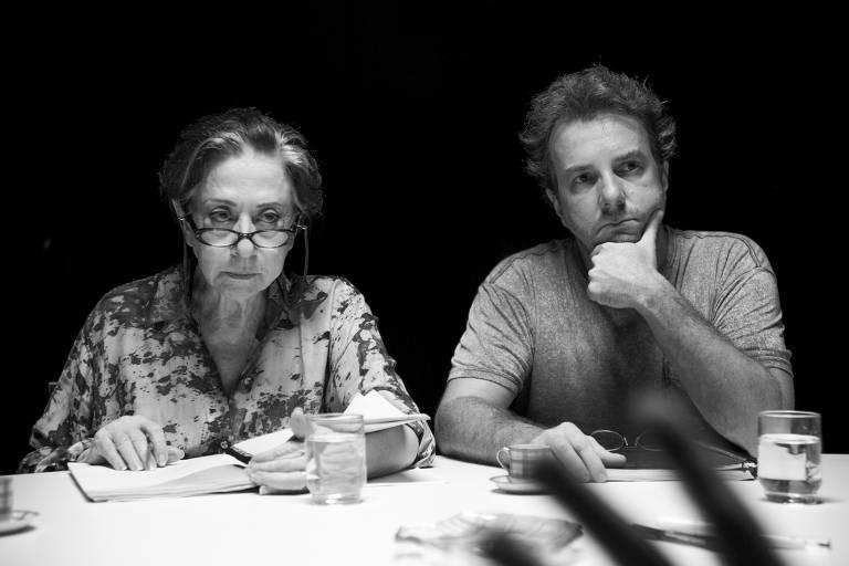 Cena de 'O Beijo no Asfalto', filme de Murilo Benício