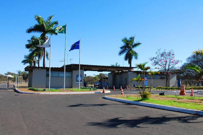 Fachada da sede da Abin, em Brasília