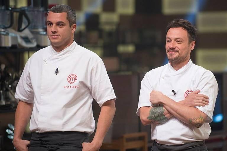 Rafael Gomes e Willian Peters dispustam a final do MasterChef Profissionais