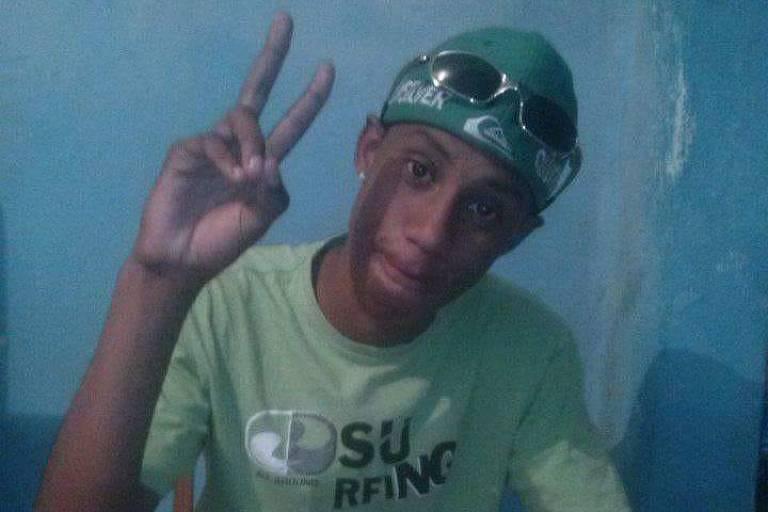 David Soares de Freitas, 20, foi morto com um tiro saído da pistola do soldado da Polícia Militar Rafael Junior Pereira