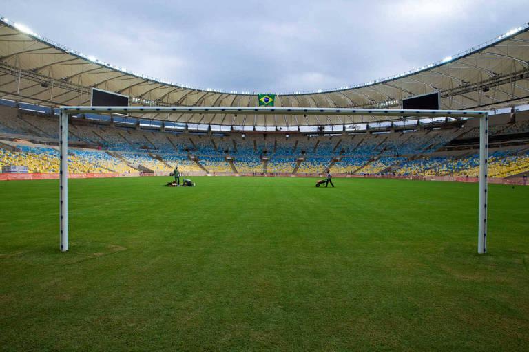 Na Copa do Mundo de 2014, seleção brasileira não jogou no Maracanã