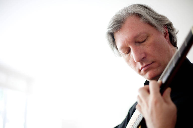 "O violonista Fabio Zanon que está lançando ""America"""