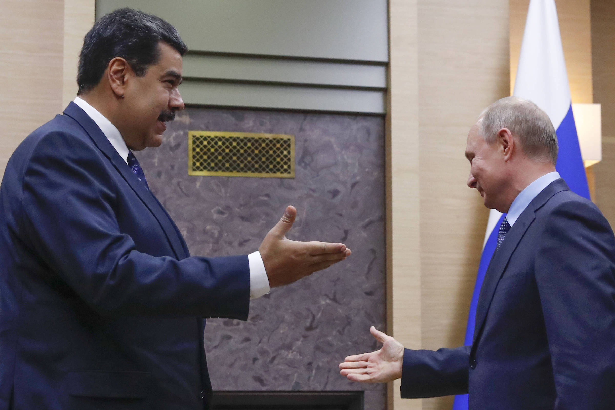Maduro diz que Rússia investirá R$ 23 bilhões na Venezuela