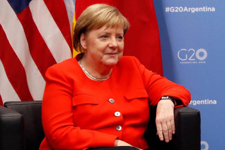De saída da vida política, Merkel lidera lista de mulheres mais poderosas da Forbes pelo oitavo ano