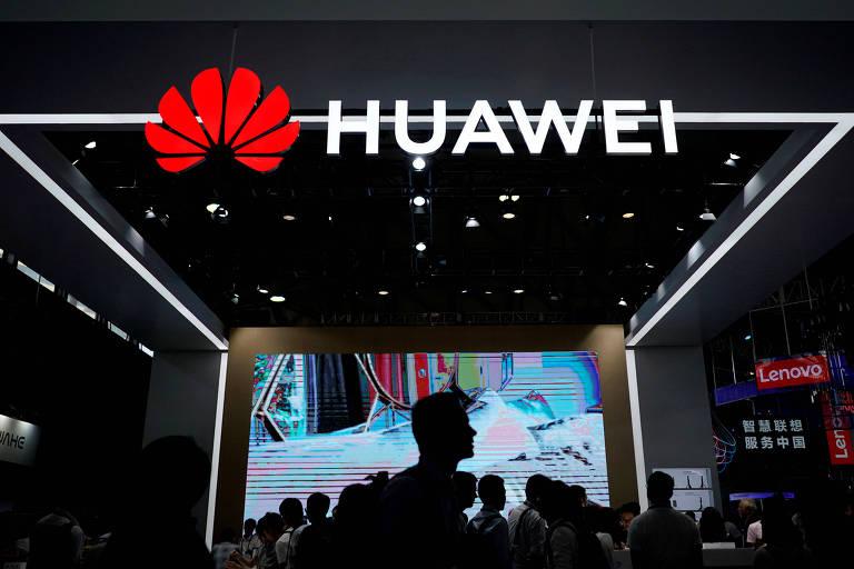 Logo do Huawei; empresa é a segunda maior fabricante de smartphones do mundo