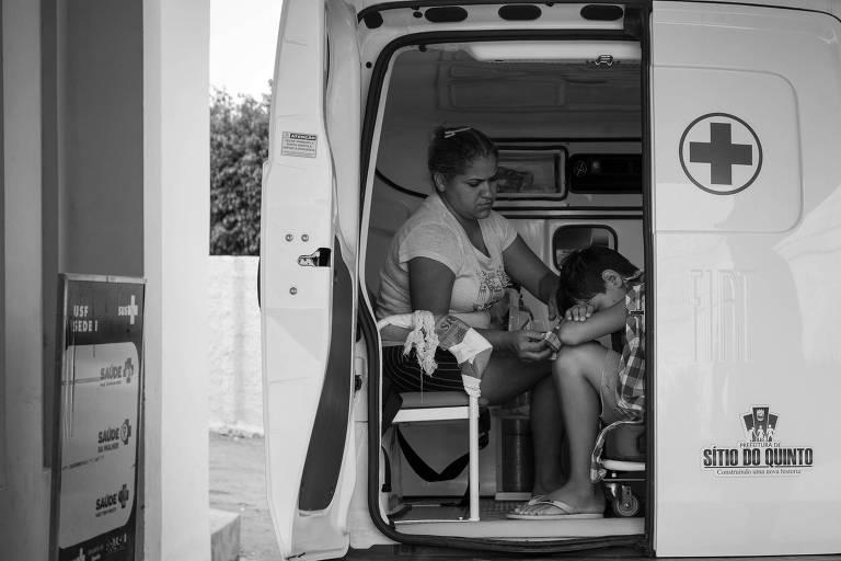 Com a saída de médicos cubanos, pacientes com quadro considerado mais grave eram encaminhados do município de Sítio do Quinto para o de Antas, na Bahia, no fim de novembro