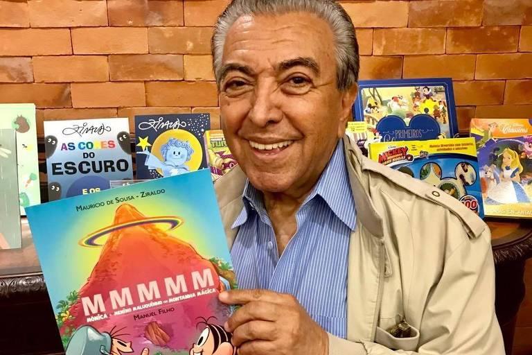Mauricio de Sousa, criador dos quadrinhos da Turma da Mônica, tem 83 anos e quase 60 de carreira