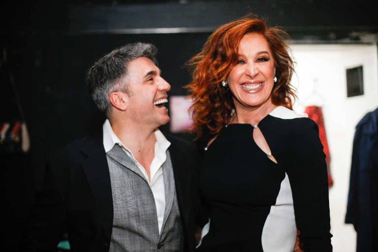 Jarbas Homem de Mello e Claudia Raia trabalharam juntos em diversos musicais