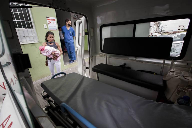 Atendimento em Unidade Básica de Saúde na cidade de Antas, vizinha a Sítio do Quinto, na Bahia