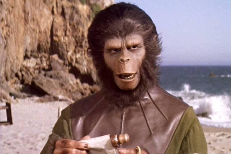 Cena de 'O Planeta dos Macacos' (1968)