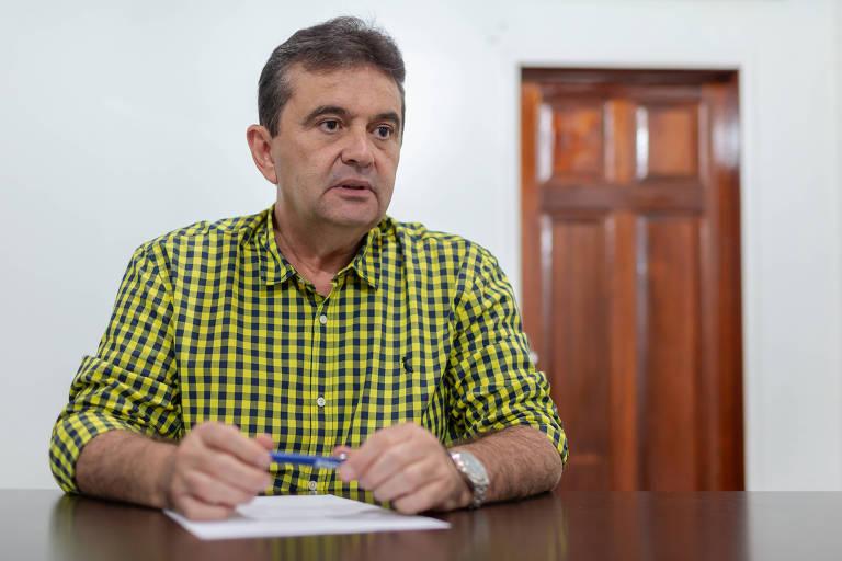 O ex-governador de Roraima José de Anchieta Júnior (PSDB) durante entrevista em seu escritório em Boa Vista