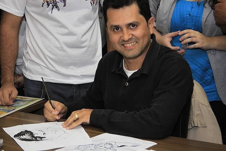 José Wilson Magalhães, desenhista