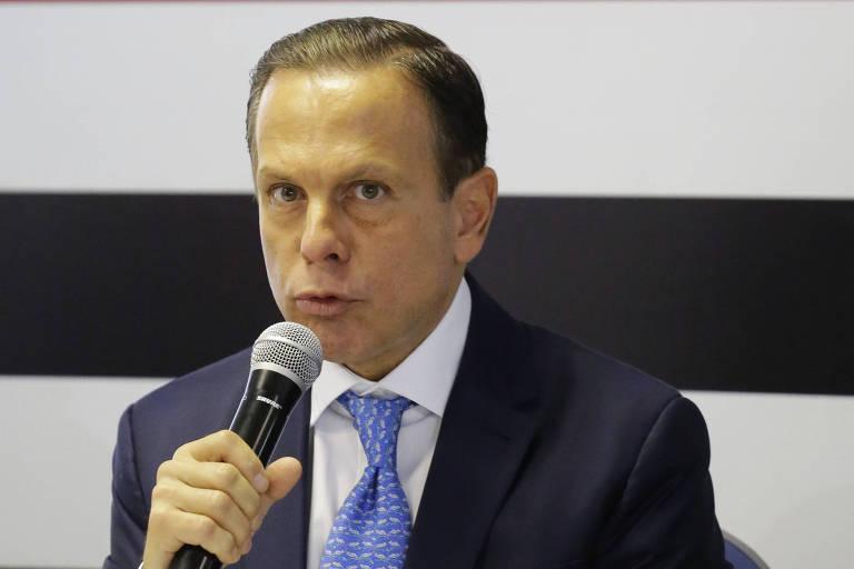 O governador eleito João Doria (PSDB), que manifestou apoio ao governo Bolsonaro