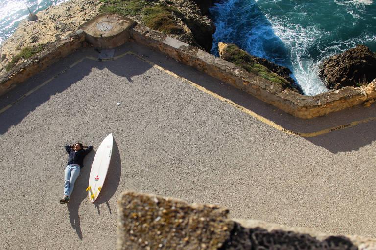 Maya Gabeira, recordista mundial de ondas gigantes