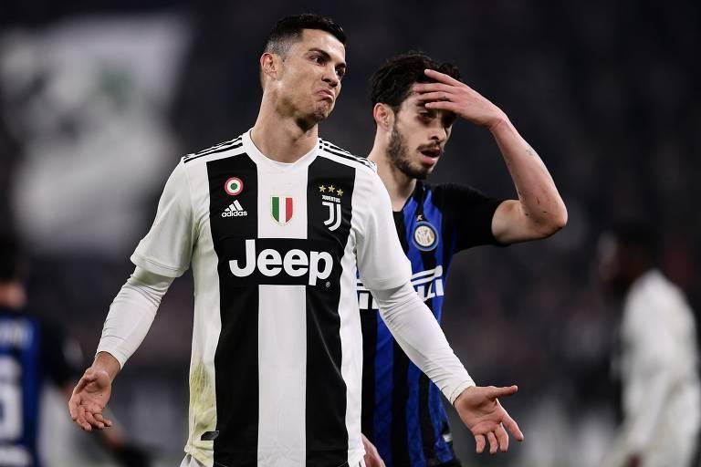 Cristiano Ronaldo é a sensação do Campeonato Italiano