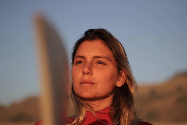 Não quero surfar um terceiro recorde mundial, afirma Maya Gabeira