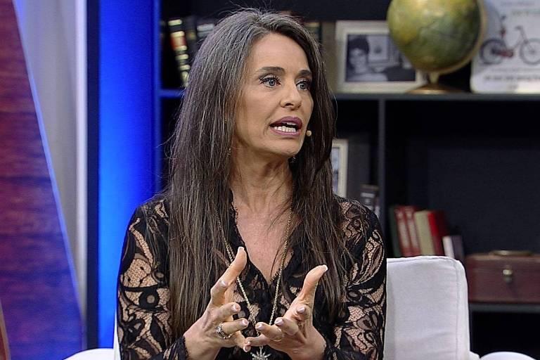 Carla Vilhena é a convidada de Mariana Godoy no talk show 'Mariana Godoy Entrevista'