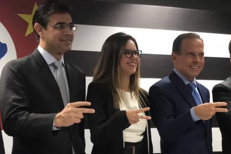 João Doria e secretários anunciados nesta quinta-feira (6) de dezembro