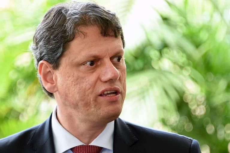 Novo ministro da Infraestrutura, Tarcísio Gomes de Freitas; ele anunciou editais para a venda de 12 aeroportos em três blocos, rodovias, ferrovias e terminais portuários