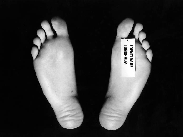Identidade Ignorada, obra do artista plástico Carlos Zilio (1974)