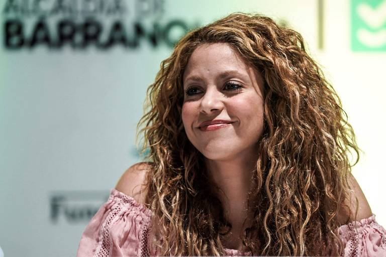 A cantora Shakira