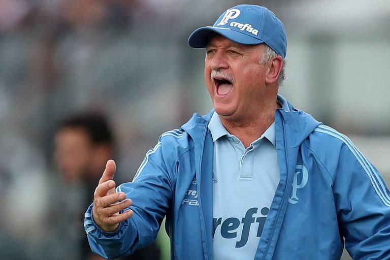 Felipão, na partida contra o Vasco, que selou o título Brasileiro do ano passado, vai revezar jogadores durante a temporada