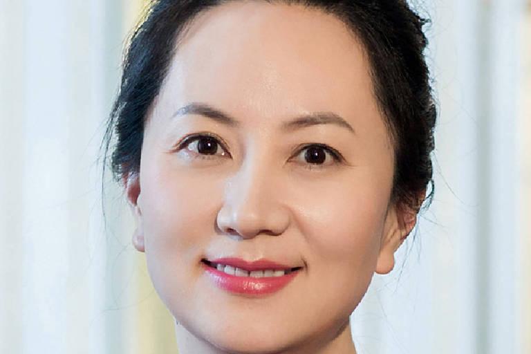 Meng Wanzhou, executiva financeira da Huawei; ela foi presa no dia 1º de dezembro no Canadá