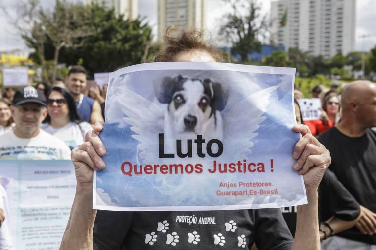 Protesto contra a morte de Manchinha