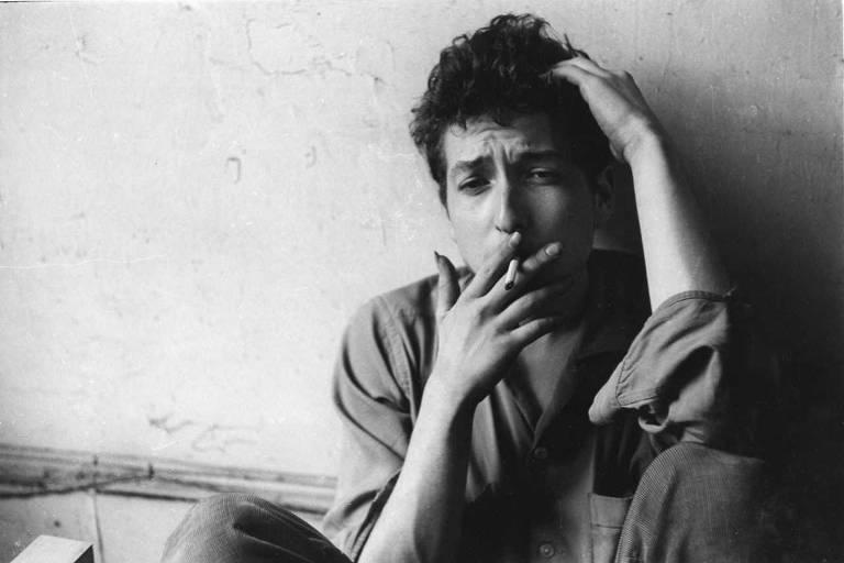 Bob Dylan usa droga provavelmente lícita
