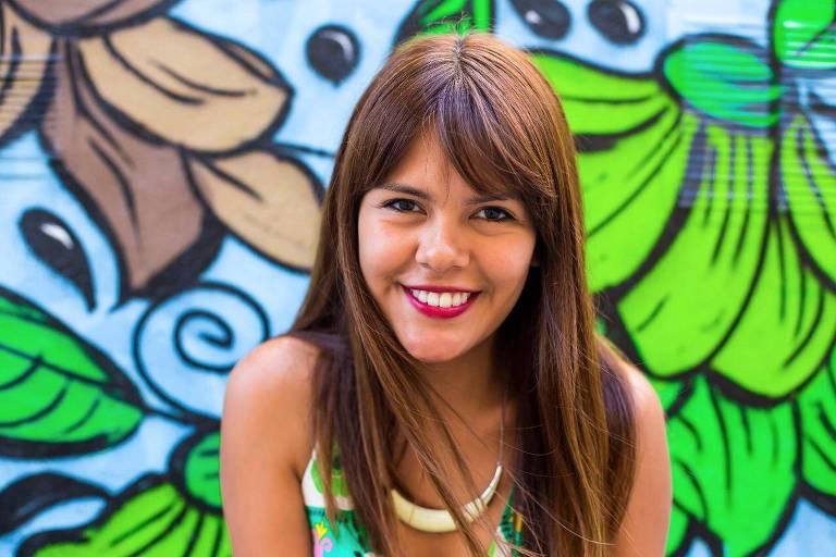 A argentina Erika Romay Flores, 30, que integra o coletivo Virada Política