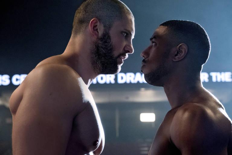Florian Munteanu e Michael B. Jordan em 'Creed 2'