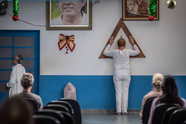 Casa de Dom Inácio de Loyola, onde funciona o centro espírita mantido por João de Deus, onde catorze mulheres denunciaram ter sido sexualmente abusadas por ele durante supostas sessões de cura
