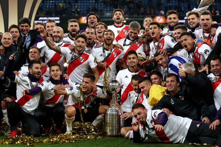 Títulos de Libertadores por clube na edição 2018
