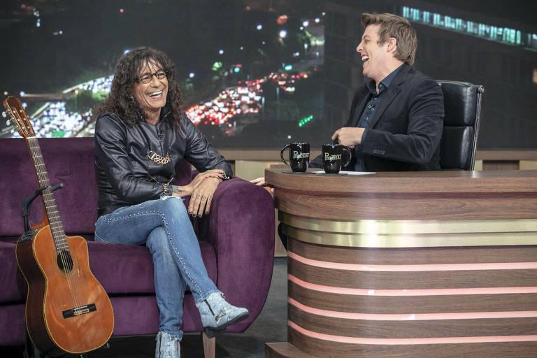 E na quinta-feira, dia 13/12, o entrevistado é o cantor Luiz Caldas.